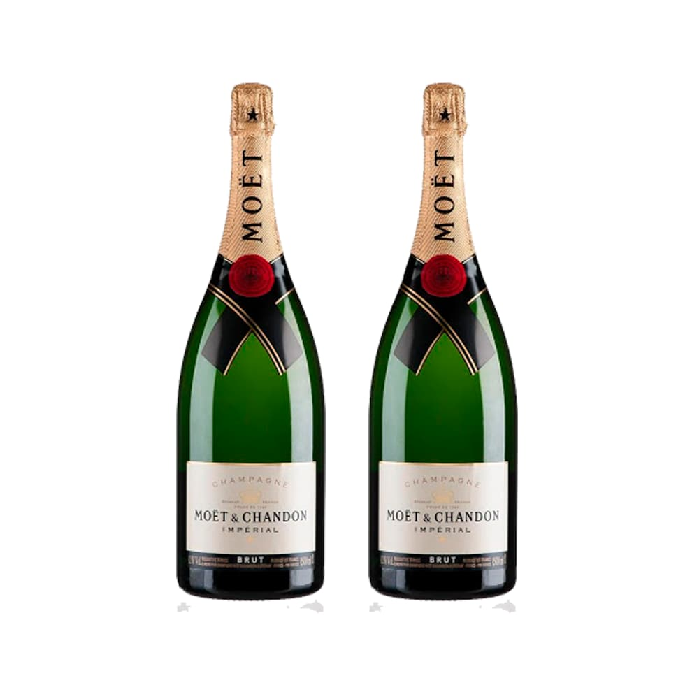 2 Champagnes MOET & CHANDON Imperial Botella 750ml