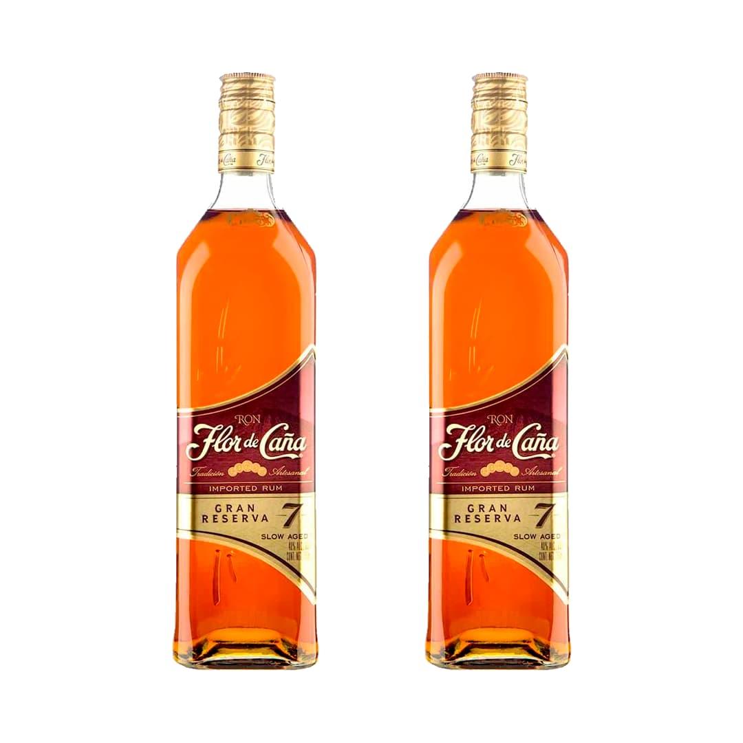 2 Rones FLOR DE CAÑA 7 Años Botella 750ml