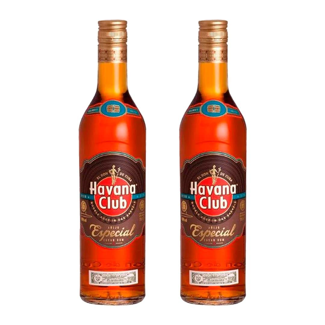 2 Rones HAVANA CLUB Añejo Especial Botella 750ml