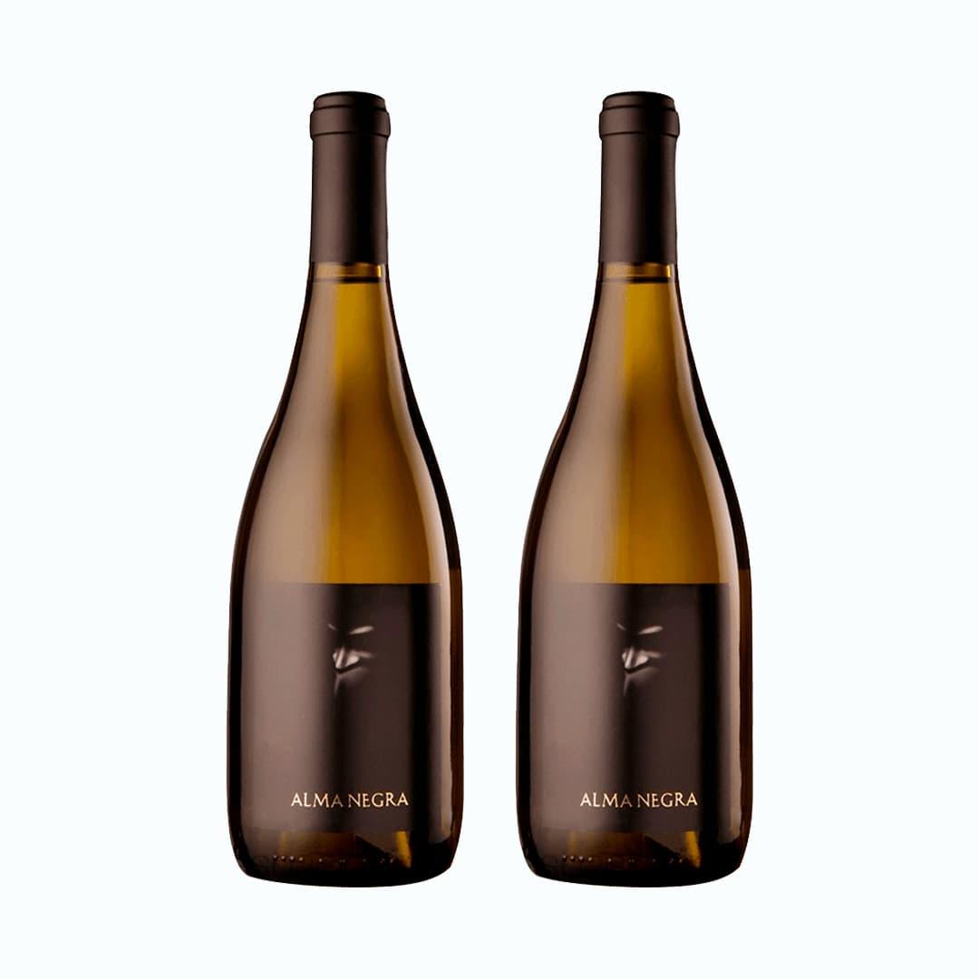 2 Vinos ALMA NEGRA Chardonnay Botella 750ml