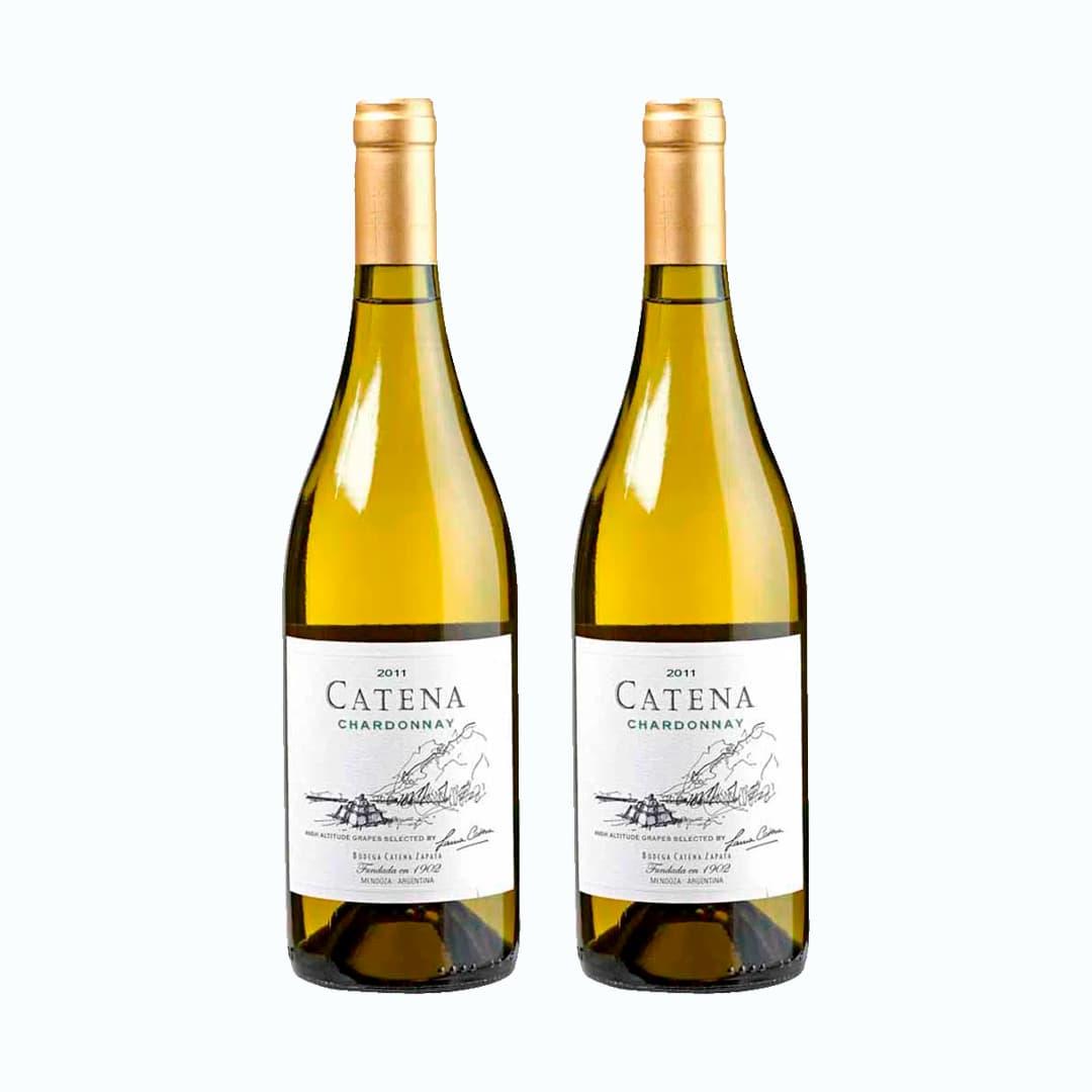 2 Vinos CATENA Chardonnay Botella 750ml