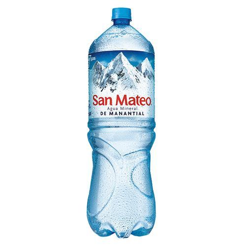 Agua Mineral SAN MATEO sin Gas Botella 2.5L