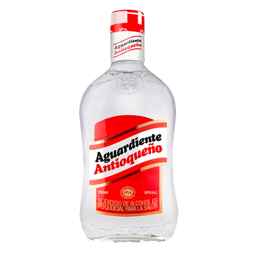 Aguardiente ANTIOQUEÑO Rojo Botella 750ml