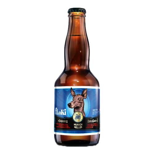 Cerveza JACKVLED Munich Helles Botella 330ml