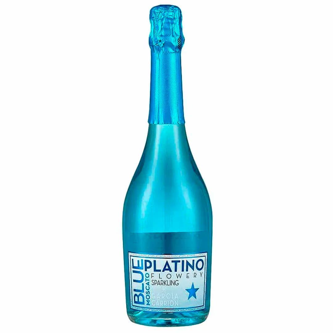 Espumante PLATINO Blue Moscato Botella 750ml