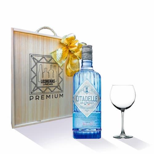 Gin CITADELLE Botella 750ml + Caja + Copa