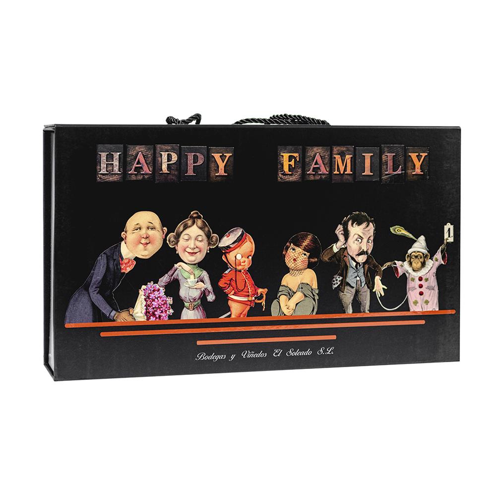 Pack de Vinos HAPPY FAMILY Colección 187ml x 6
