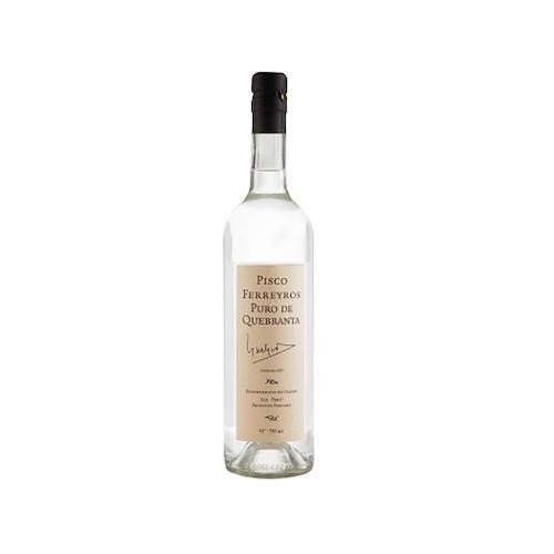 Pisco FERREYROS Quebranta Botella 750ml
