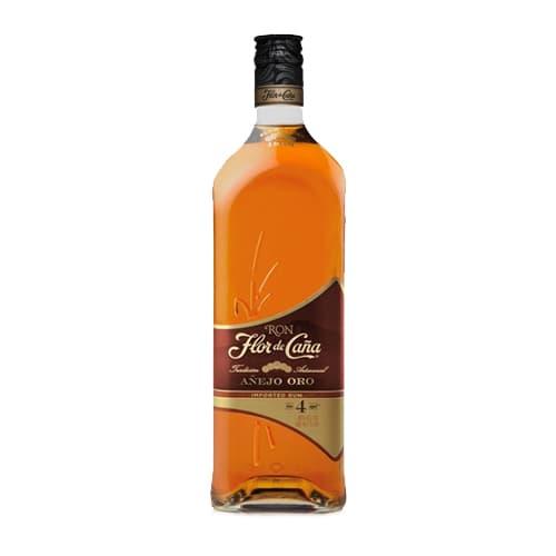 Ron FLOR DE CAÑA 4 Años Botella 1L