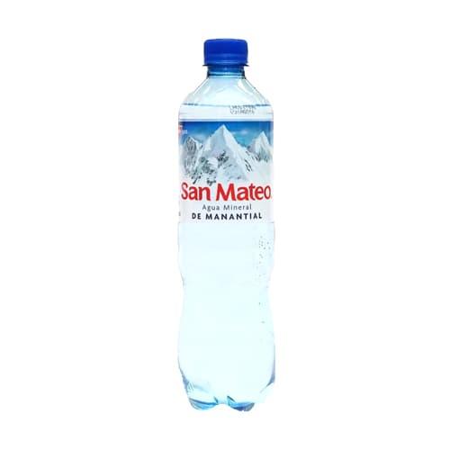 Agua Mineral SAN MATEO con Gas Botella 600ml