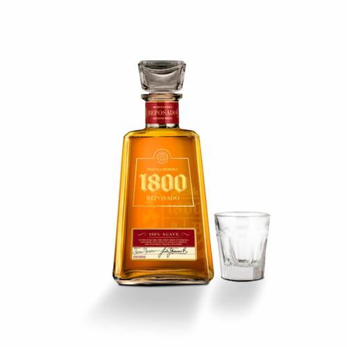 Tequila JOSE CUERVO Reposado 1800 + 1 Shot Tequilero