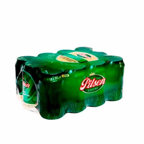 Cerveza PILSEN CALLAO 12Pack Lata 355ml