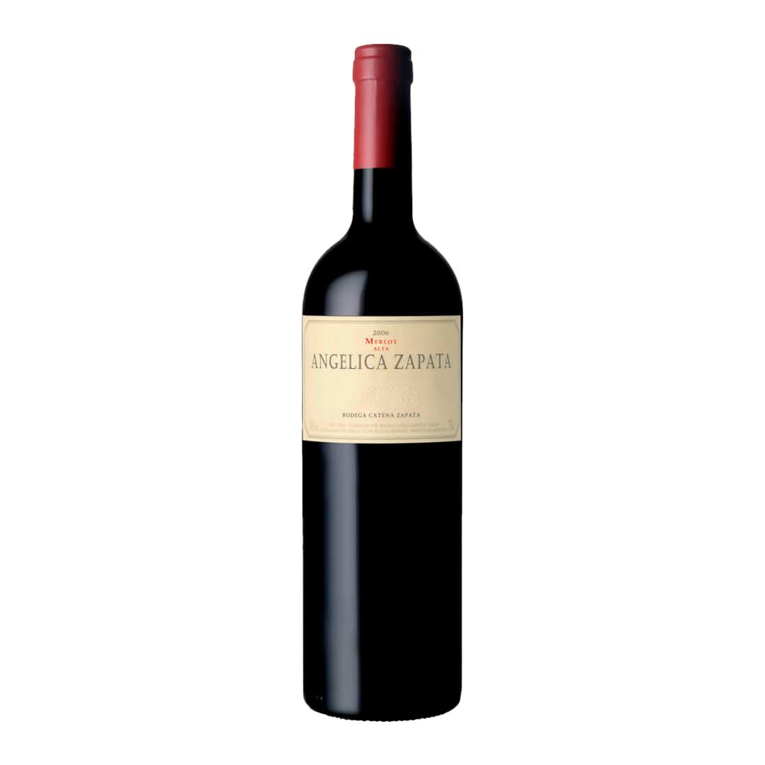 Vino ANGELICA ZAPATA Merlot Botella 750ml