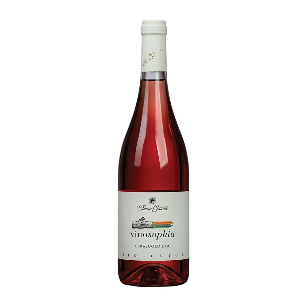 Vino CHIUSA GRANDE Vinosophia Cerasuolo Rosado Botella 750ml