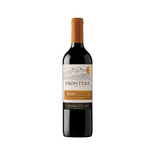 Vino FRONTERA Malbec Botella 750ml