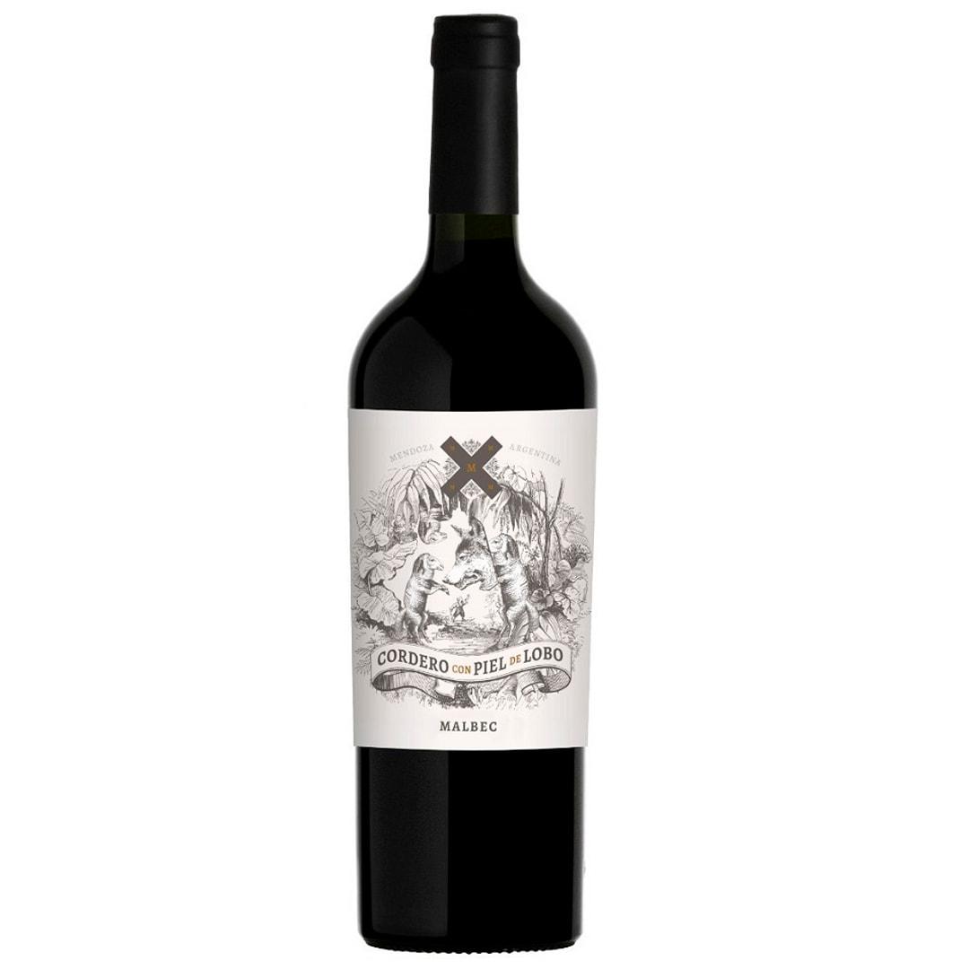 Vino CORDERO CON PIEL DE LOBO Malbec Botella 750ml