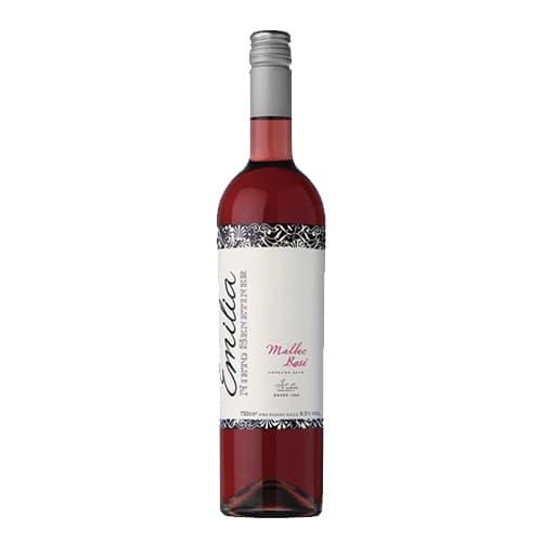 Vino EMILIA Malbec Rosé Botella 750ml