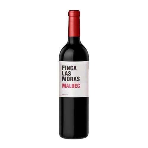 Vino FINCA LAS MORAS Malbec Botella 750ml