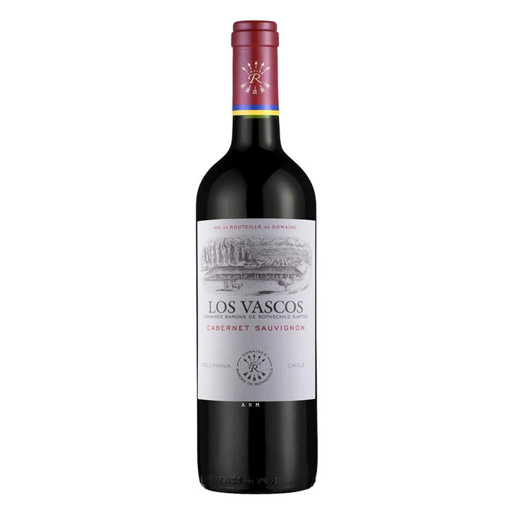 Vino LOS VASCOS Cabernet Sauvignon Botella 750ml