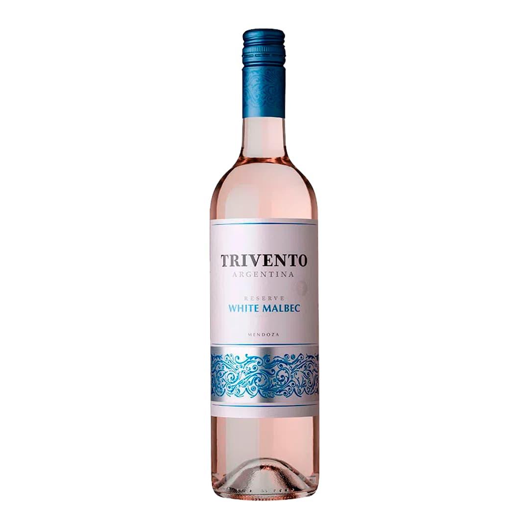 Vino TRIVENTO Reserva White Malbec Botella 750ml