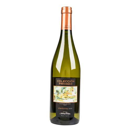 Vino NAVARRO CORREAS Colección Privada Chardonnay Botella 750ml