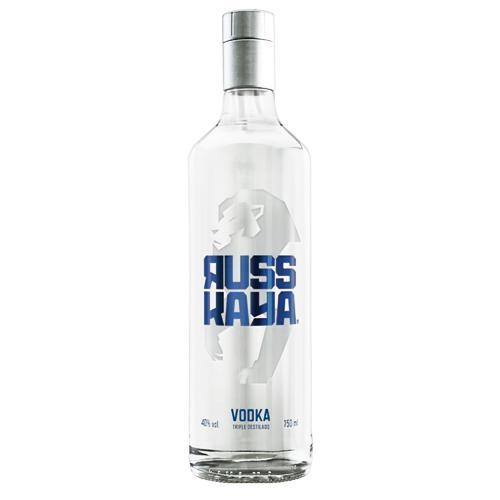 Vodka RUSSKAYA Botella 750ml